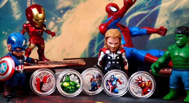 漫威超级英雄纪念银币
