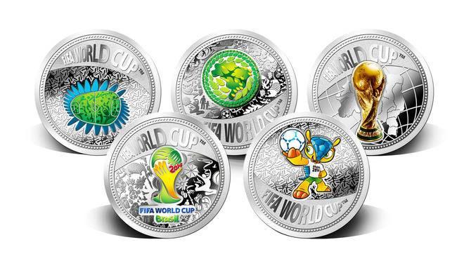 2014年巴西FIFA世界杯紀念銀章大全