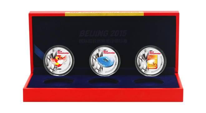 2015北京田径世锦赛纪念银章