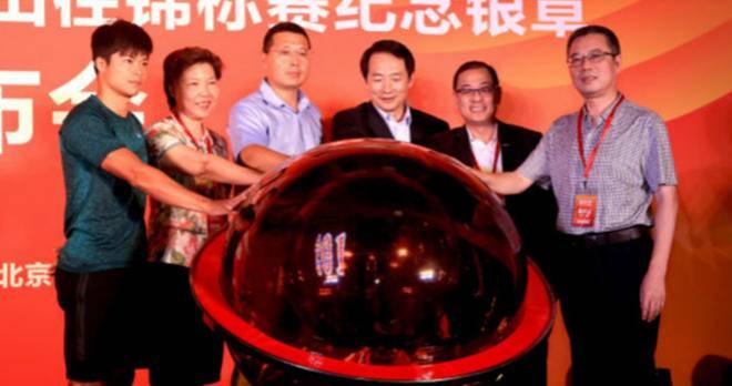 2015年北京田径世锦赛进入冲刺阶段,赛事唯一收藏纪念银章全球首发