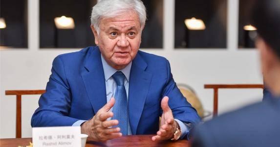 上合组织前秘书长阿利莫夫考察中国知名文创企业汉今国际